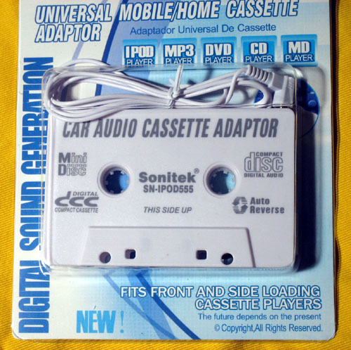 Best Car Cassette Adapter For Ipod