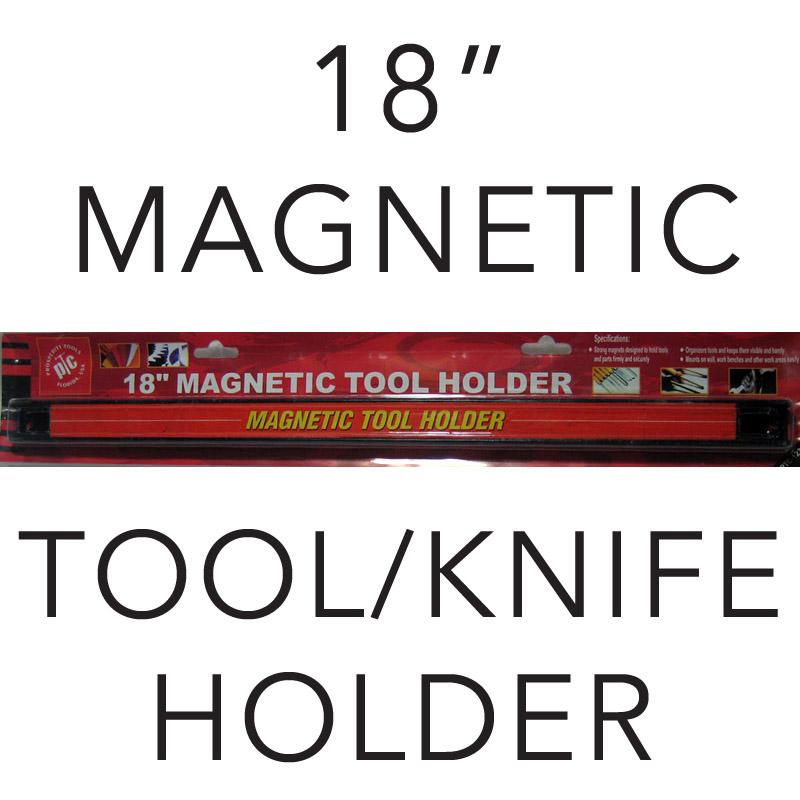 New 18 Magnetic Tool Holder Knife Set Rack Bar Magnet Organizer Storage Kitchen Ebay