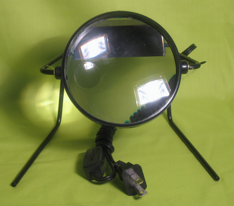 illuminated magnifier on stand lamp desk magnifying glass lighted. Black Bedroom Furniture Sets. Home Design Ideas