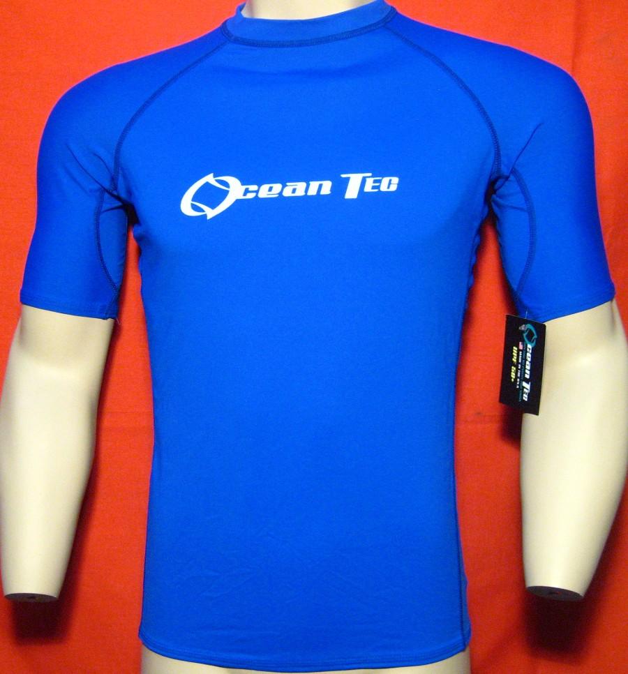 New Mens Rashguard Shirt 50 Spf Uv Lycra Surf Swim Sun