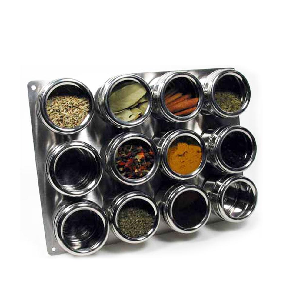 Magnetic spice racks for kitchen - Alltopbargain