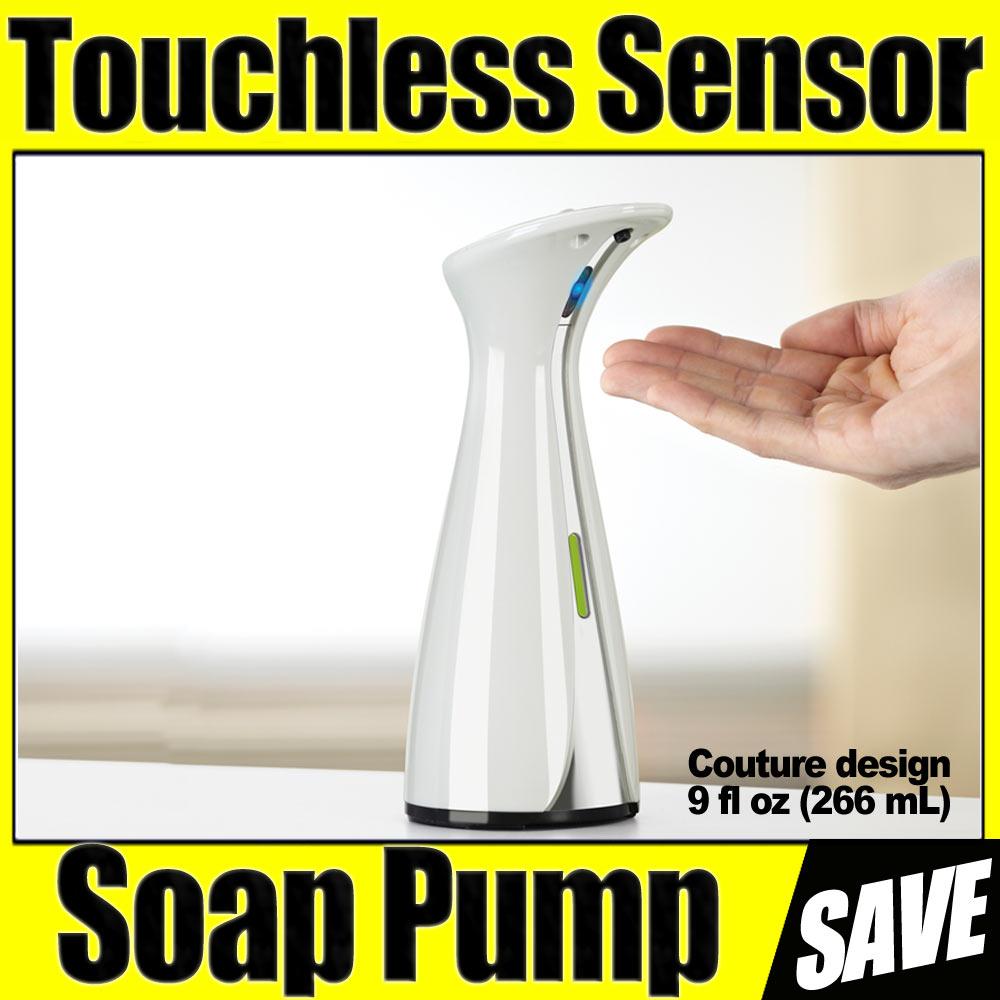 Umbra otto sensor authomatic soap pump dispenser sink bath liquid soap touchless - Umbra sensor soap pump ...