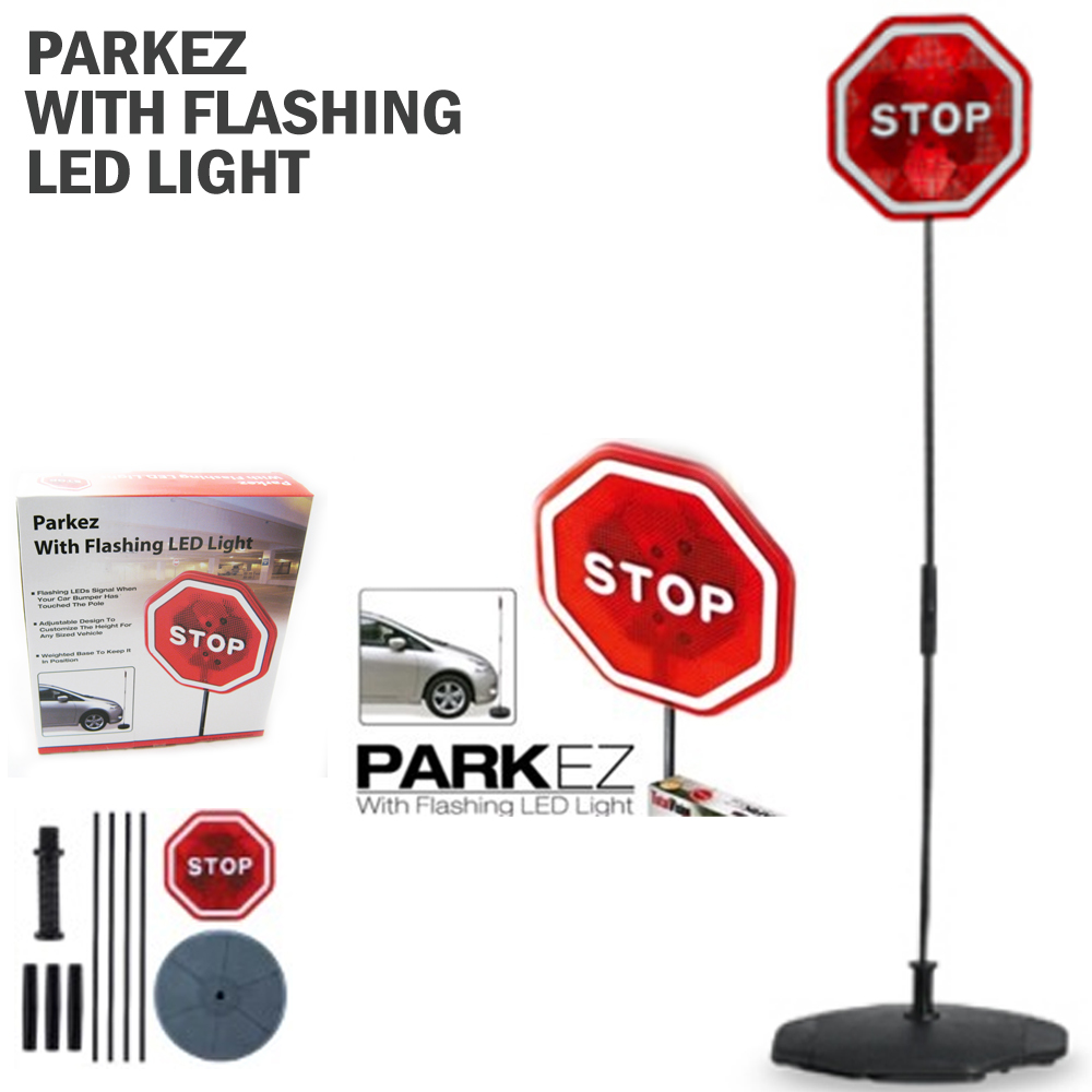 Parking Garage Sensor Lights: PARKING STOP SIGN PARKEZ FLASHING LED LIGTH CAR GARAGE