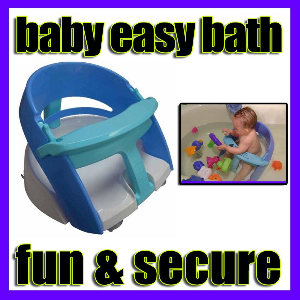 Dreambaby Baby Bath Seat Shower Chair Bathing Bath Infant Easy Toy Safe Tub Ring