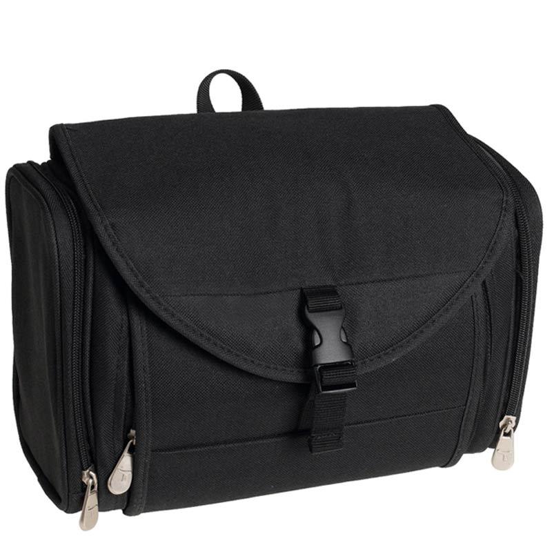 travel toiletry hanging bag travelon kit black new ebay