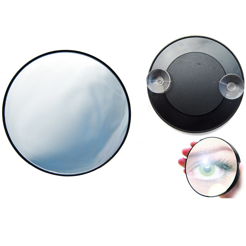 Magnifying Mirror 15x Suction Cup Makeup Compact Cosmetic