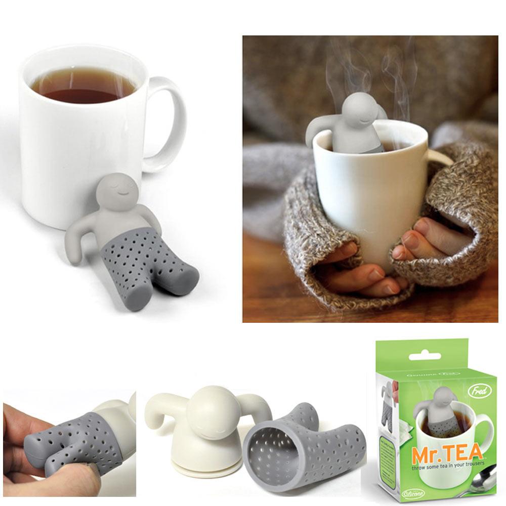 mr tea infuser loose leaf strainer tea bag mug filter. Black Bedroom Furniture Sets. Home Design Ideas