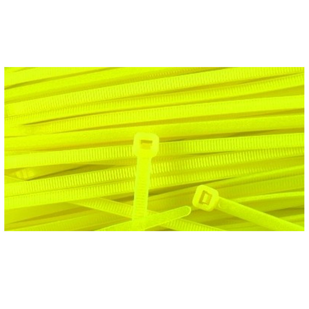 500 pcs 4 quot cable zip tie wire uv electrical network