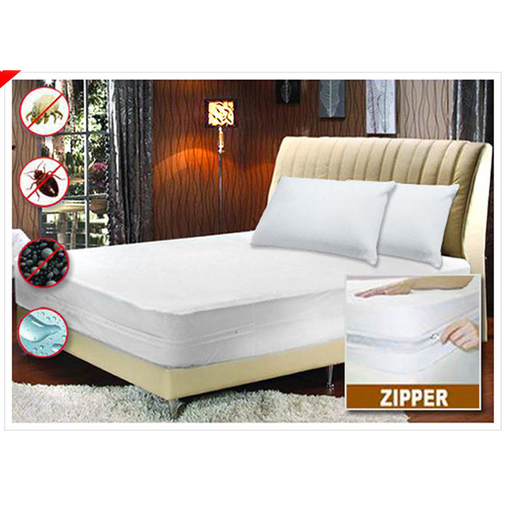 Bed bugs mattress coverbed bug mattress encasement beli for Waterproof bed sheets south africa
