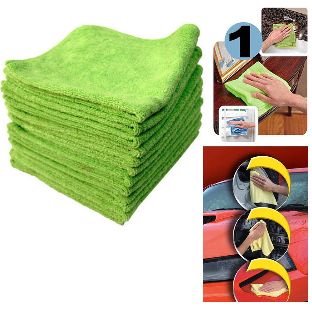 1 Pc Microfiber Towels Cleaning Wholesale Super Soft Plush