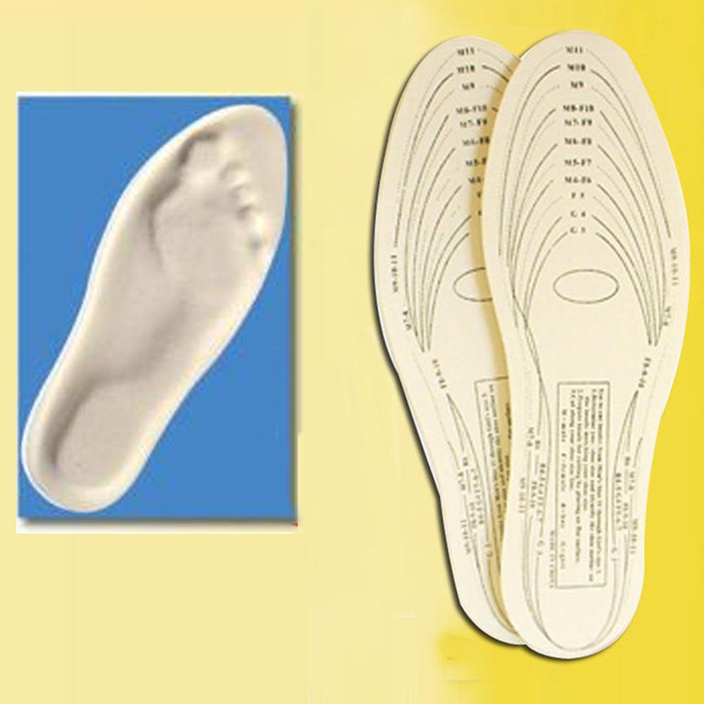pair memory foam insoles shoe unisex 1 size fit most