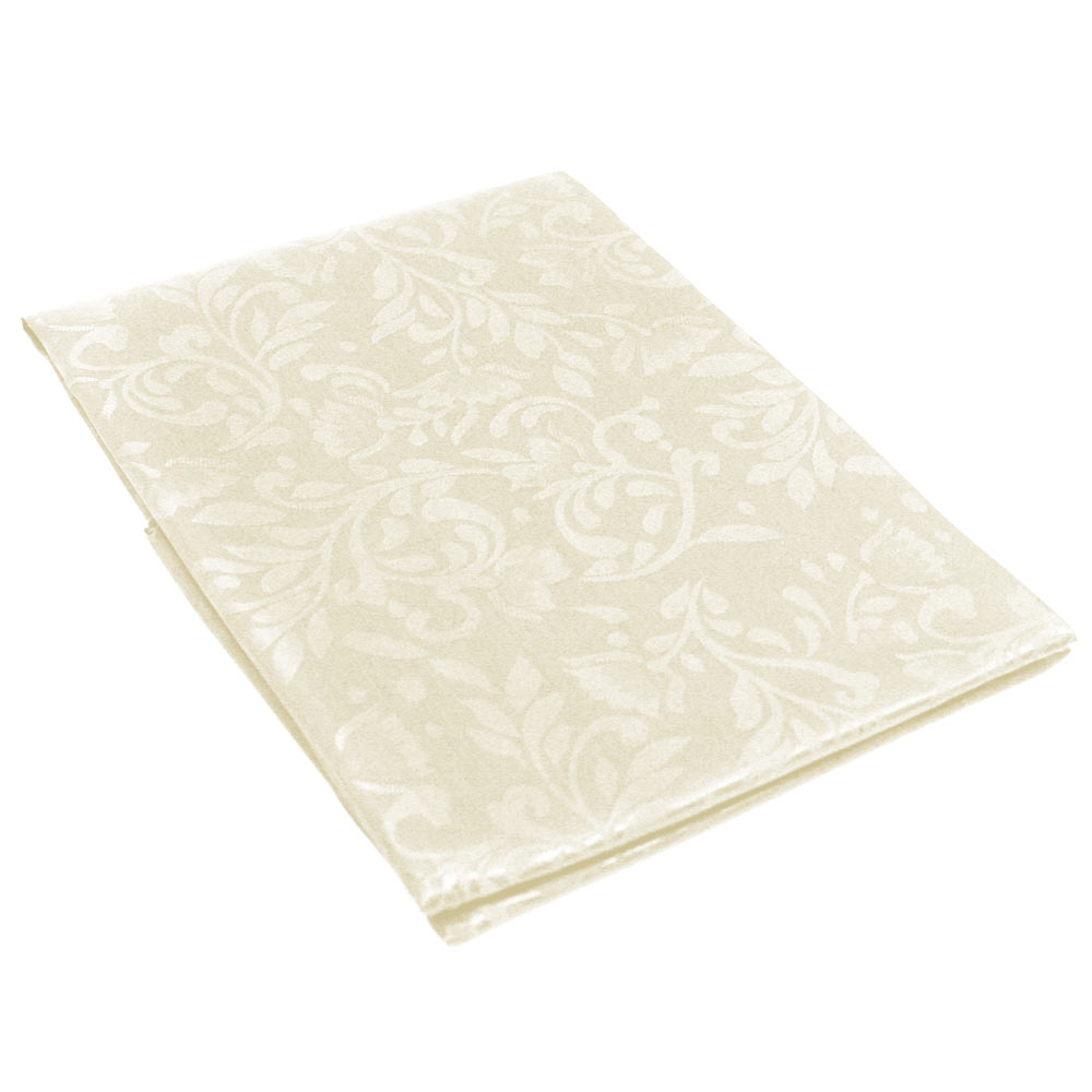 New damask table cloth linens 52 x 70 rectangular cover for Tablecloth 52 x 120