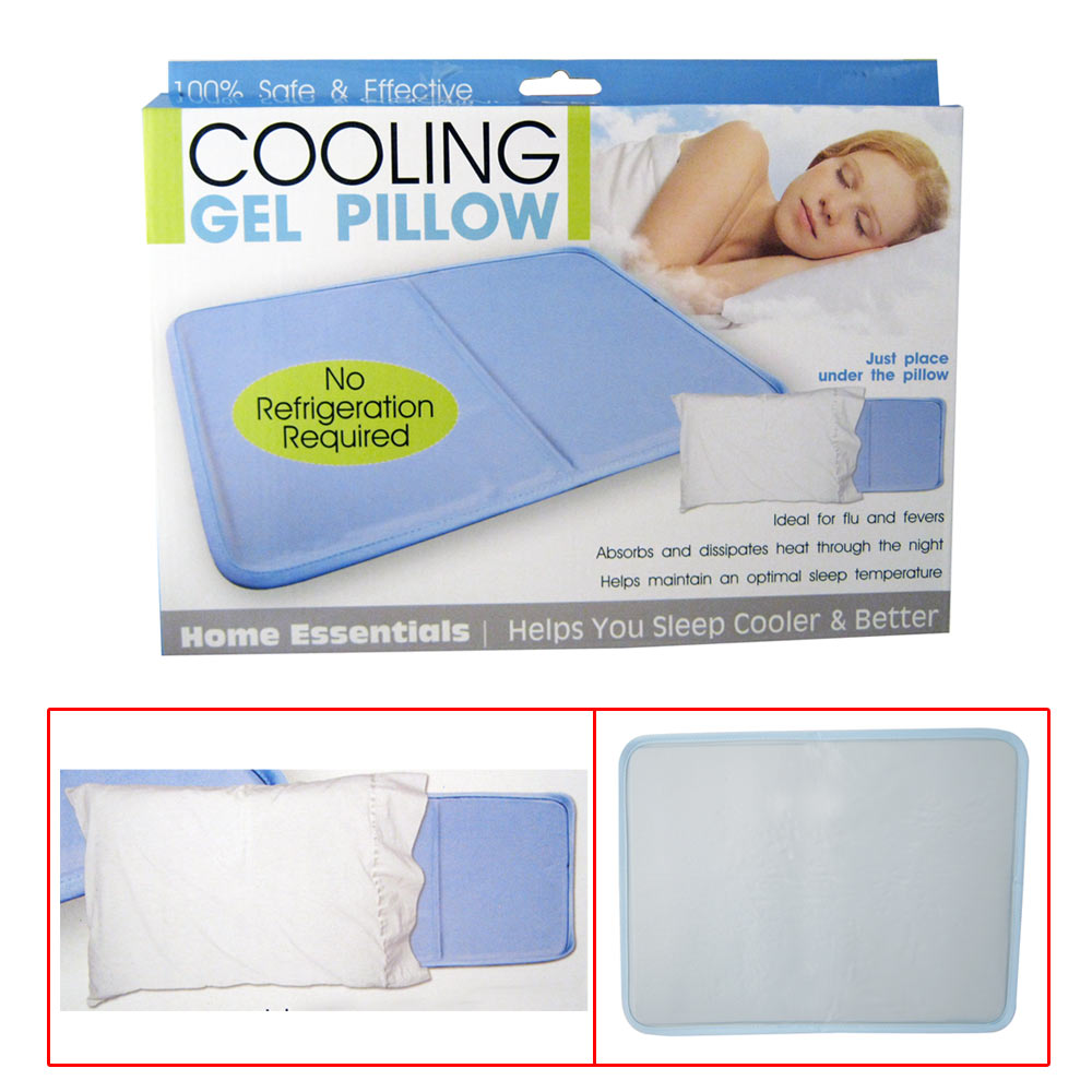 Cooling Gel Insert Pillow Soothsoft Comfort Pad Device