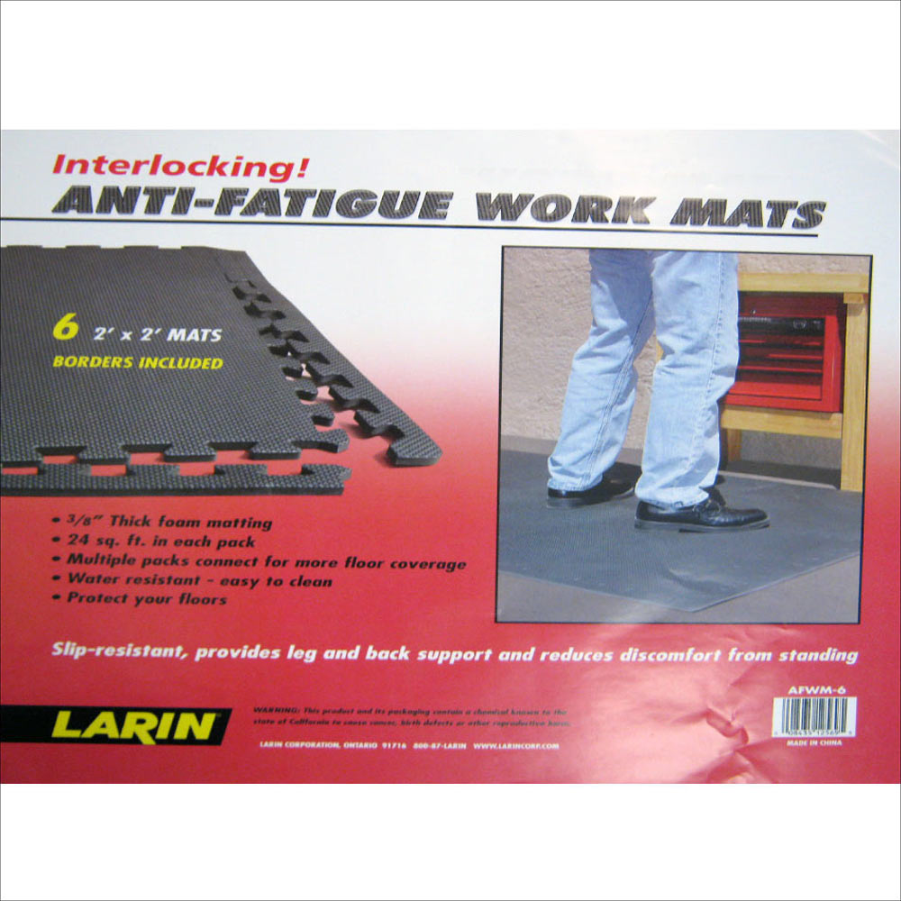 Anti fatigue mats sqft exercise play gym floor