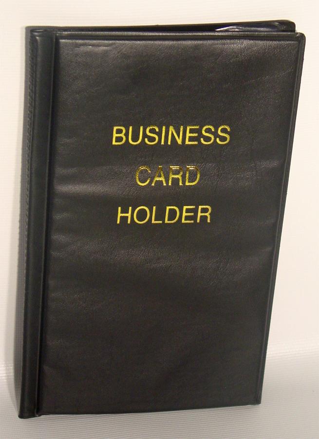 Business Card File Holder Album 96 Capacity Id Organizer