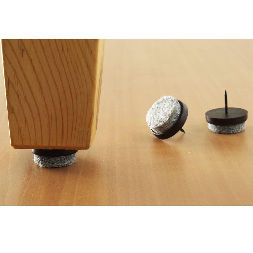 32 Pc Furniture Table Chair Leg Floor Felt Pad Skid Glide ...