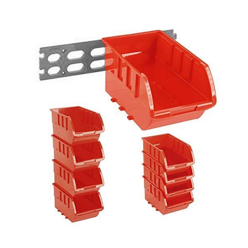 28 small parts plastic storage containers interbin plastic