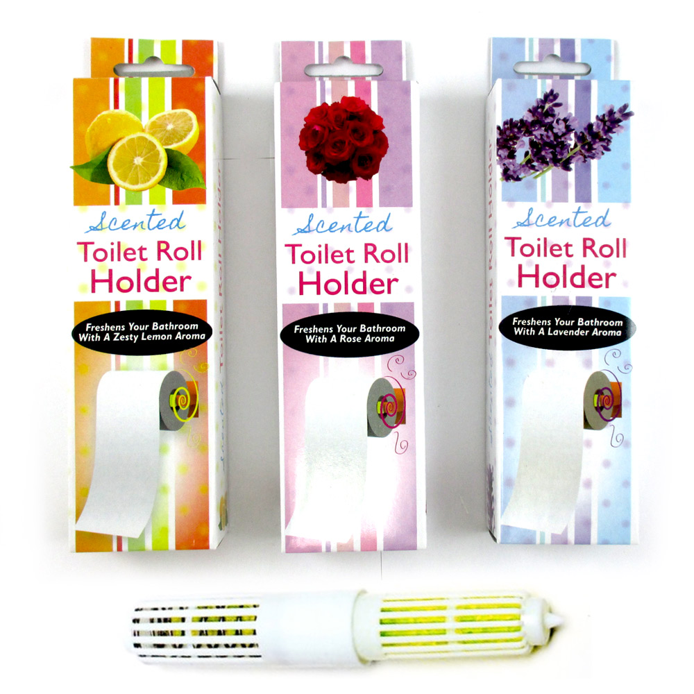 4 scented toilet paper rollers tissue roll holder replacement spindle bathroom ebay - Scented toilet paper roll holder ...