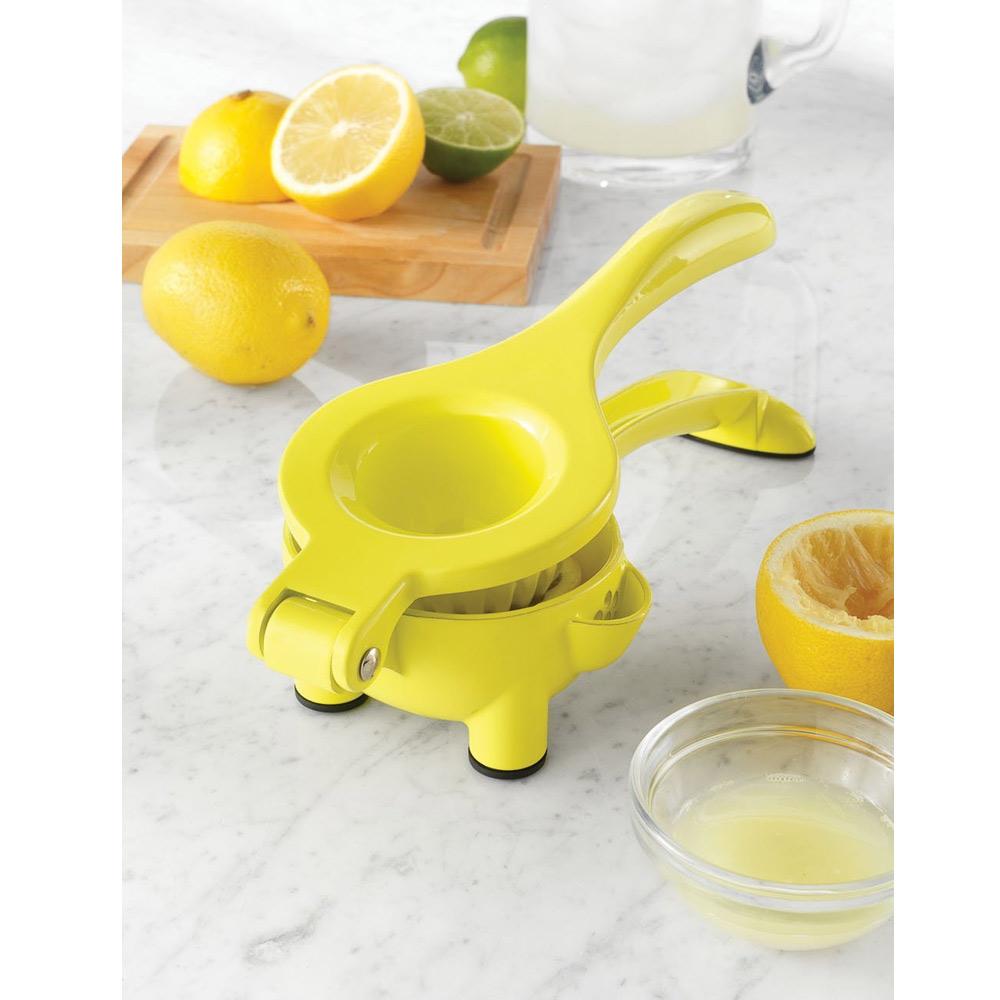 Countertop Juicer : ... Squeezer 2 In1 Manual Hand Held Countertop Juicer Citrus Press Spout