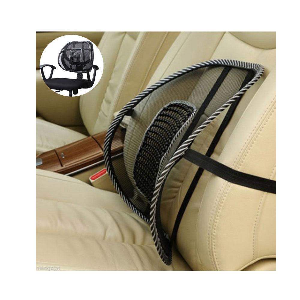Mesh Lumbar Back Brace Support Office Home Car Seat Chair