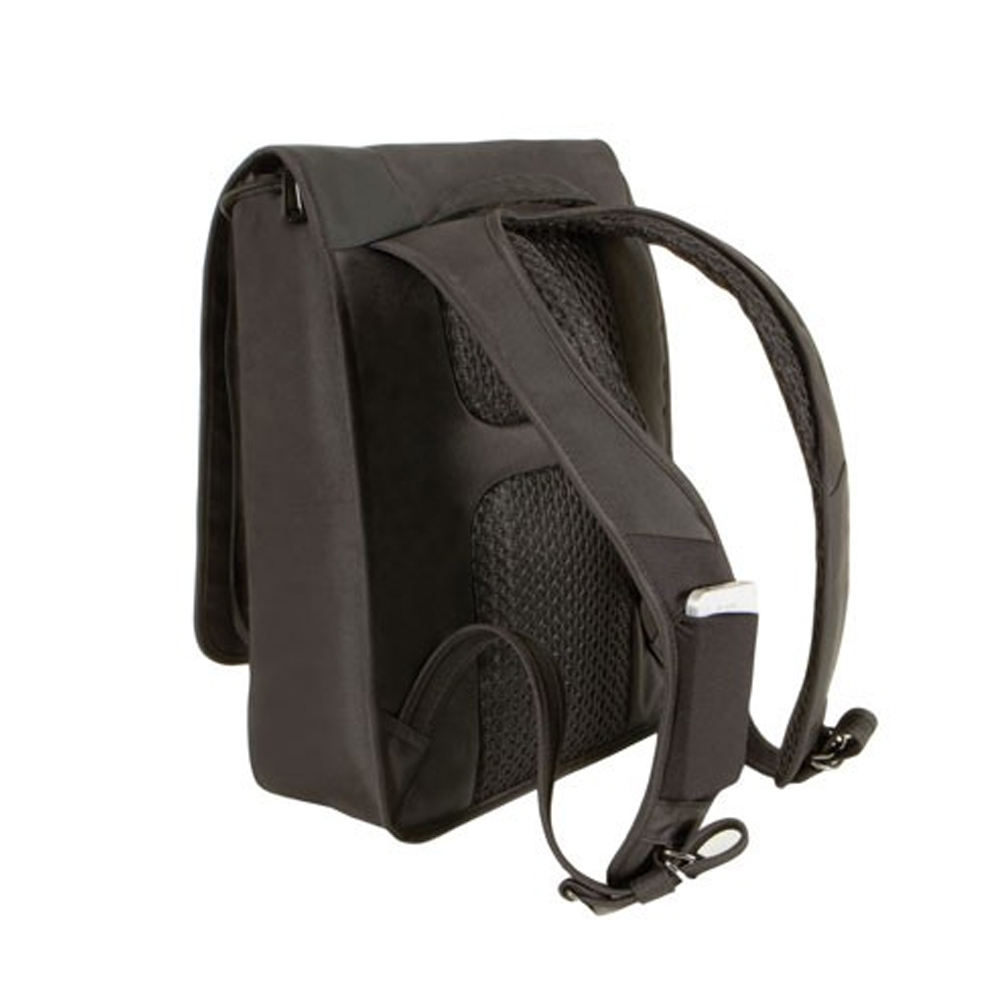 ... RFID Blocking Urban Backpack Bag Travel Safe Luggage Black | eBay