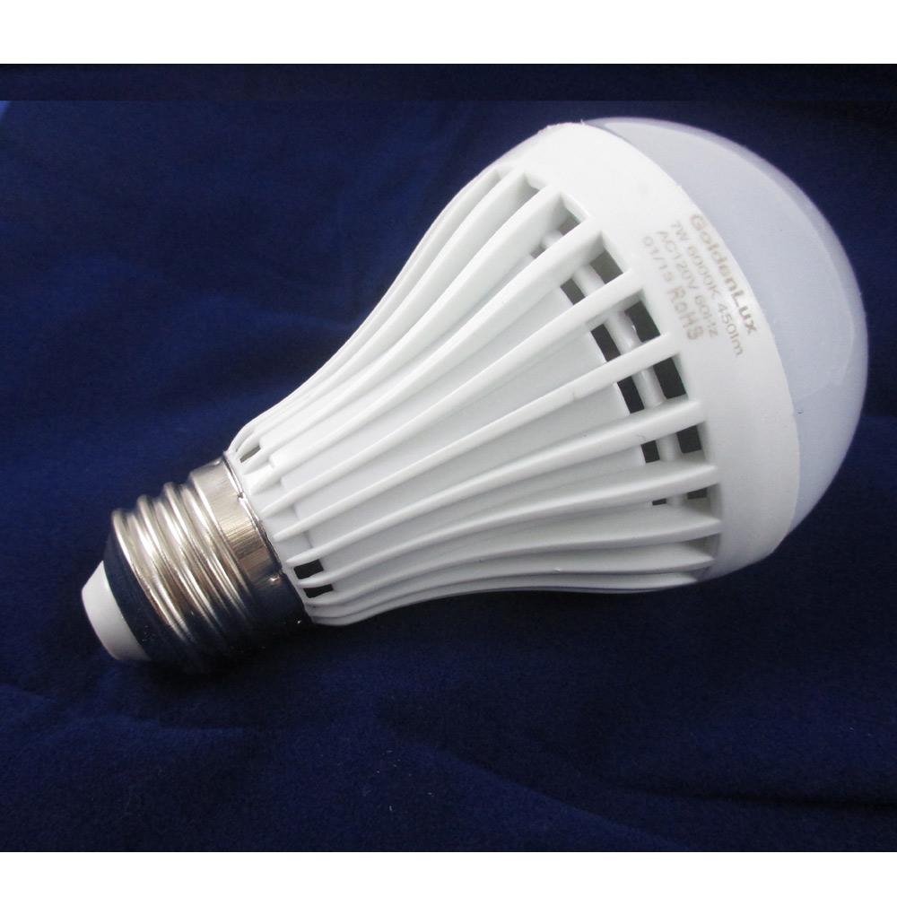 4 x led light bulb 7w e26 120v energy saving bright lamp. Black Bedroom Furniture Sets. Home Design Ideas