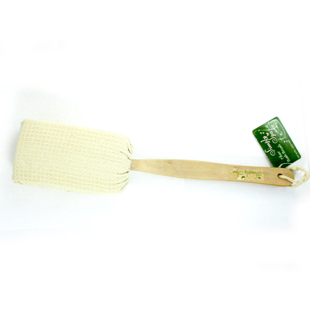 Natural Fiber Brush For Body