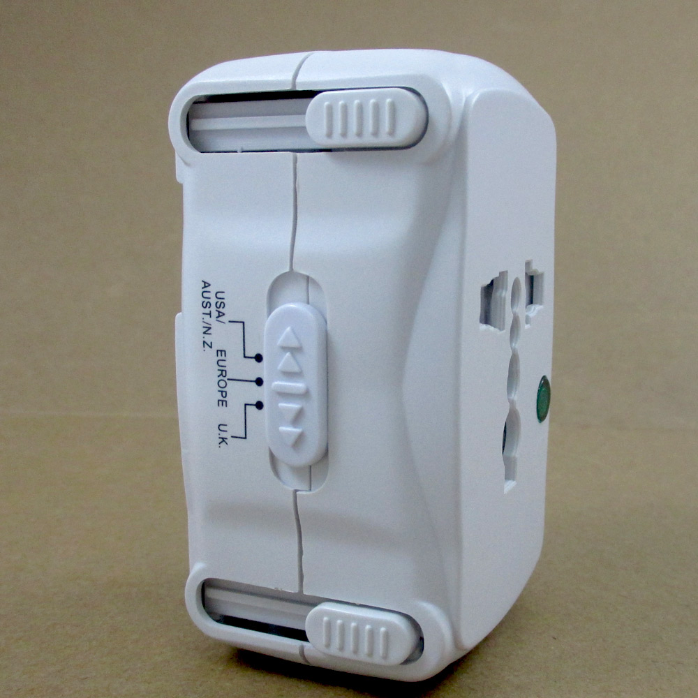 Universal All In One Adapter Plug Surge Protector International Travel Outlet Ebay