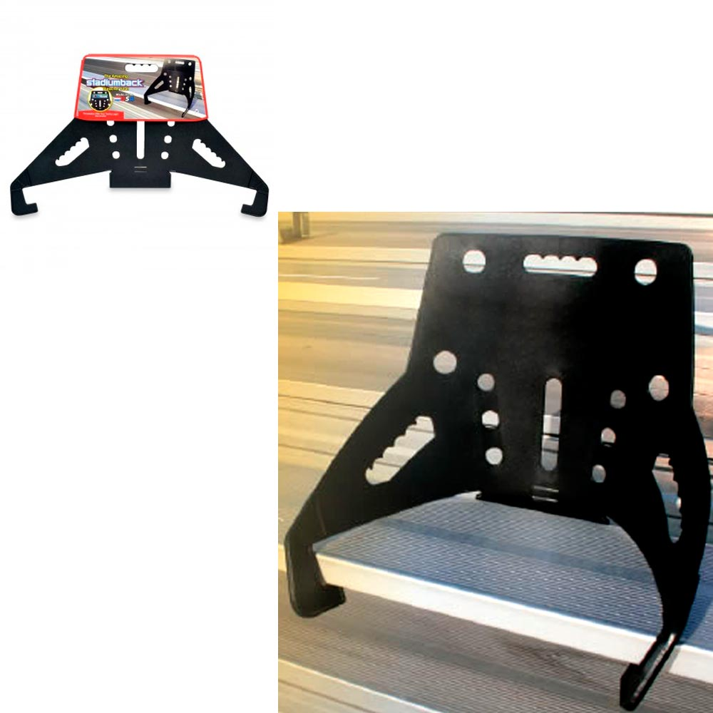 Stadium Back Bleacher Seat Chair Bench Portable Support Sporting Event Game New Ebay