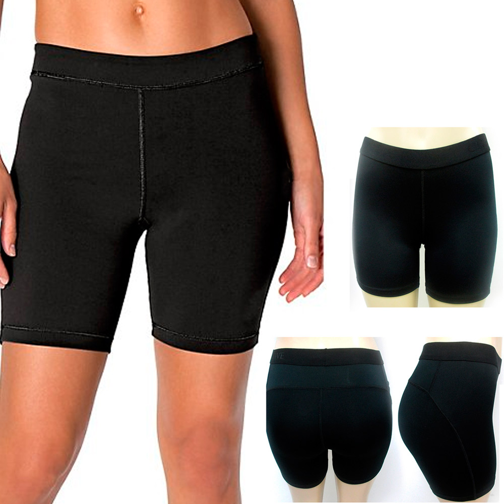 Women Girl Shorts Stretchy Summer Pants Sports Gym Workout ...