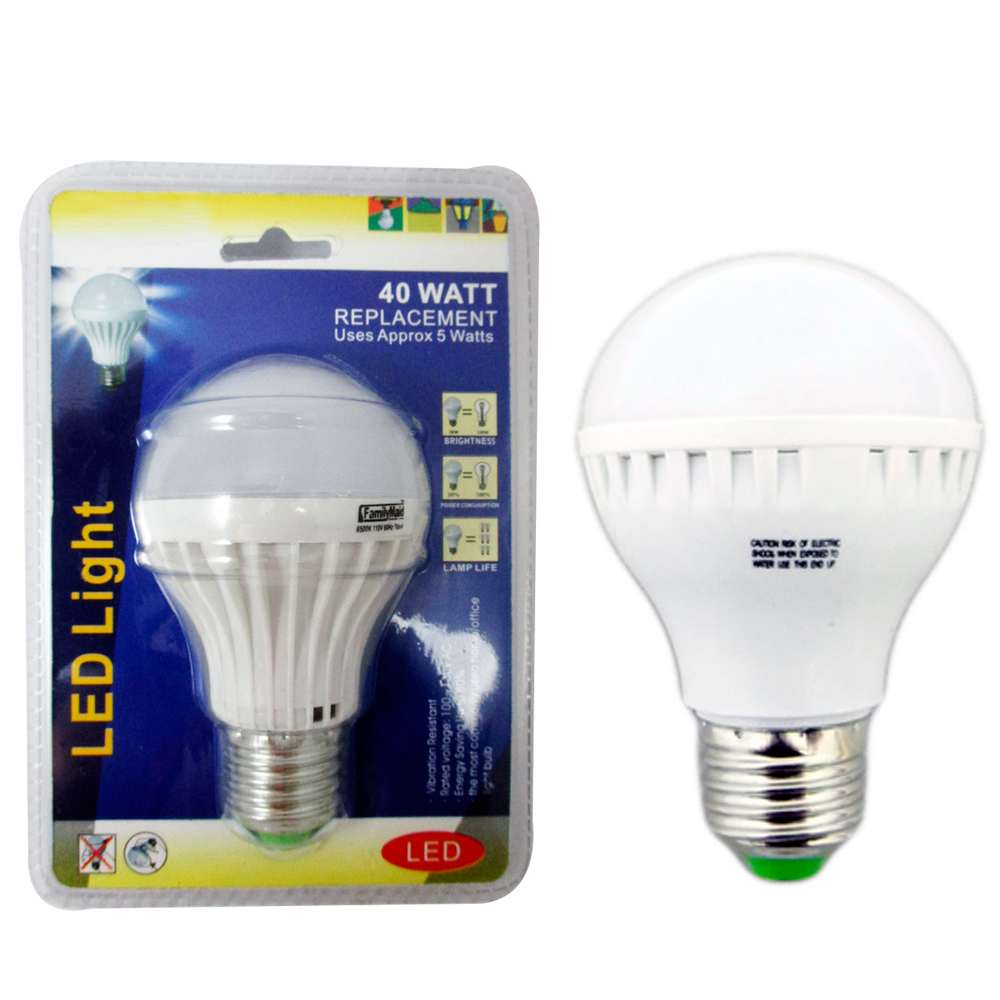 4 energy saving 40 watt bright white led light bulb lamp. Black Bedroom Furniture Sets. Home Design Ideas
