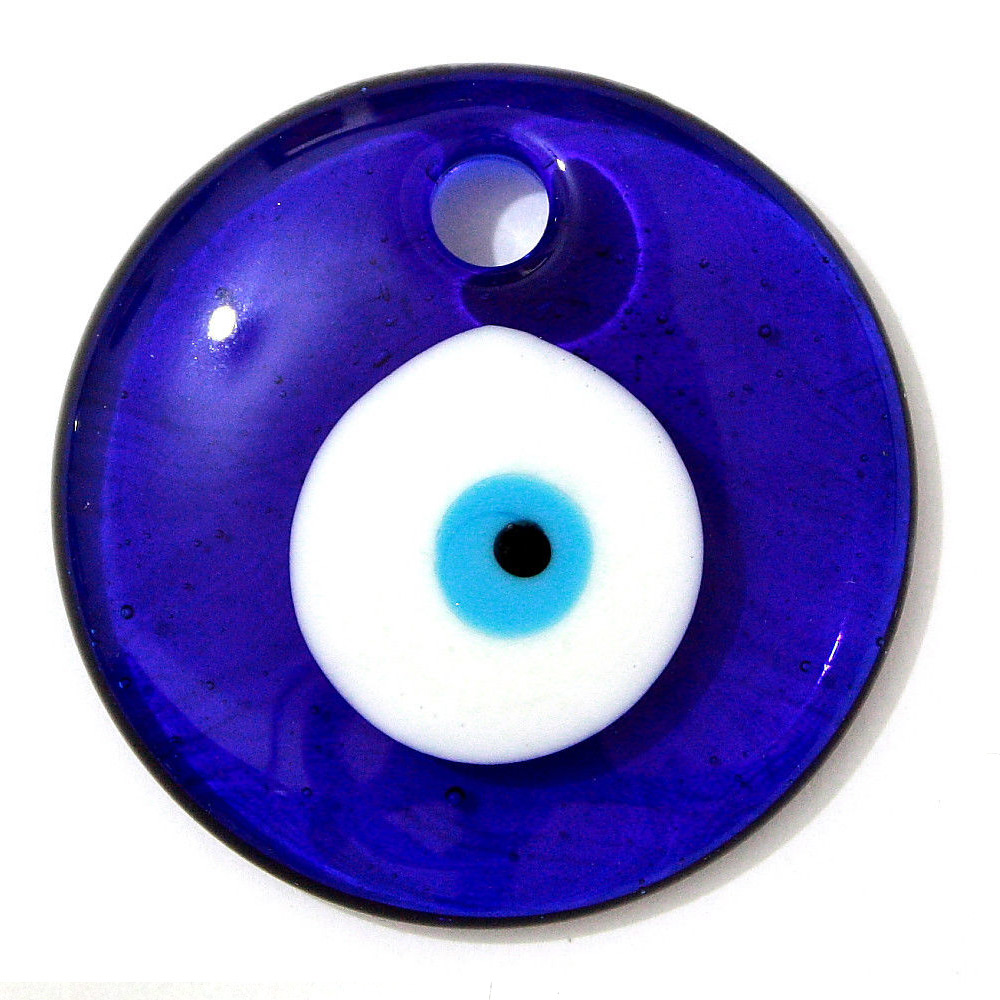 Evil Eye Decoration Wall Hanging : Large blue evil eye wall hanging protection amulet luck