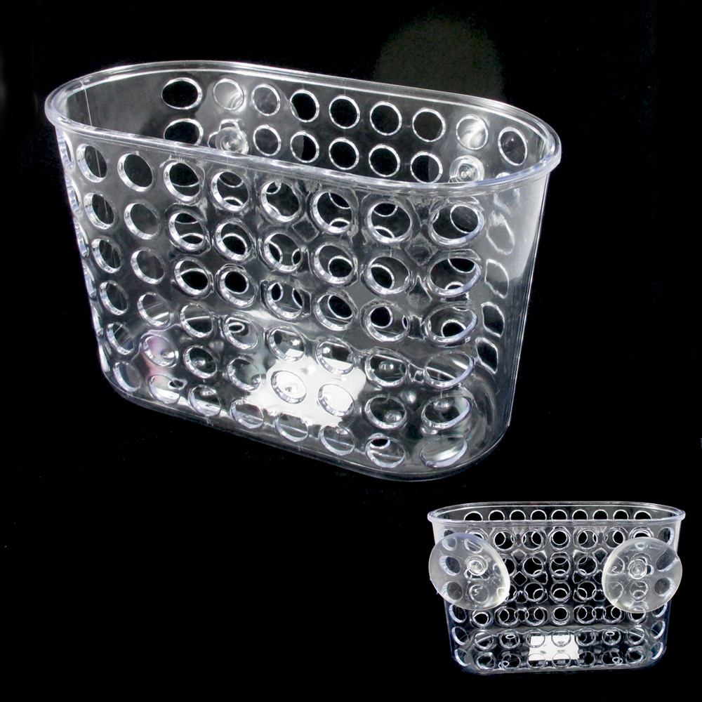 bath caddy shower bathroom organizer suction cups storage