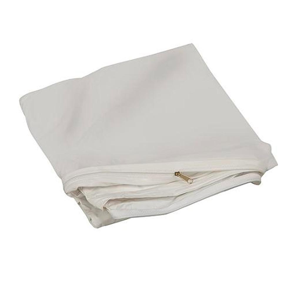 crib size zippered mattress cover vinyl toddler bed allergy dust bug protector ebay