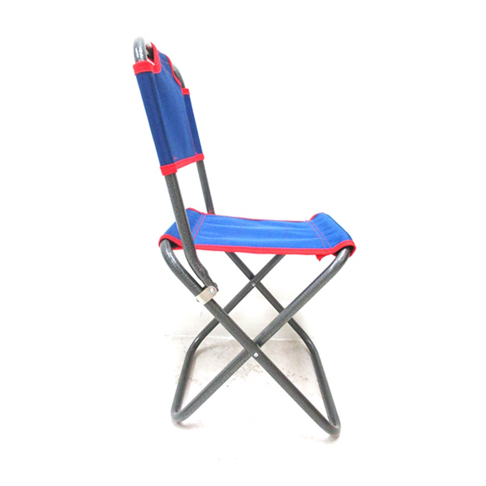 1 folding chair child outdoor portable beach fishing for Fold up garden chairs