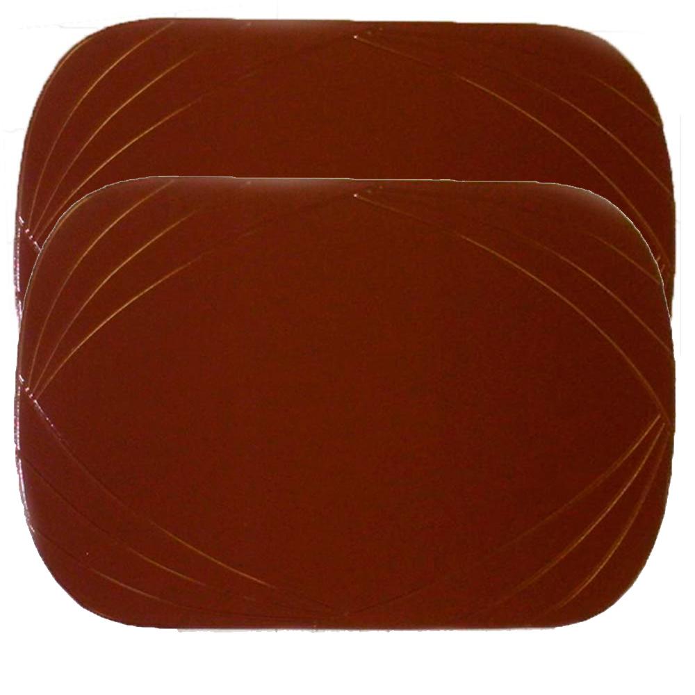 2 Piece Vinyl Placemat Kitchen Home Decor Table Protection