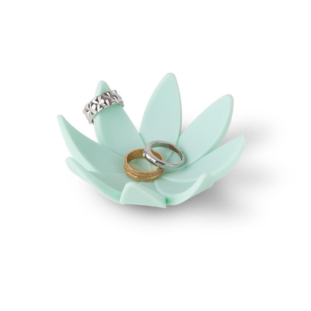 1 umbra lotus flower jewelry dish ring holder rubber. Black Bedroom Furniture Sets. Home Design Ideas