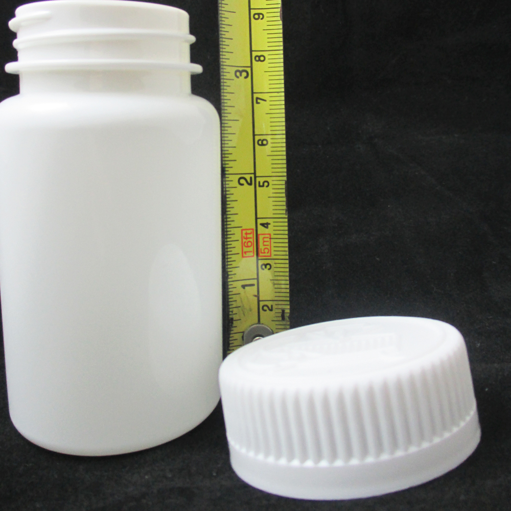 50 empty plastic pill bottles cap medicine container for What to do with empty prescription bottles