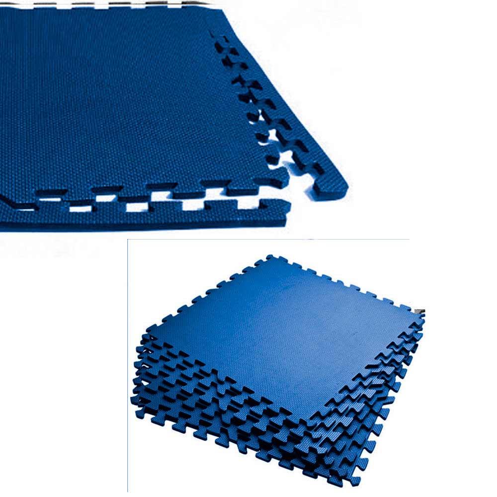 Eva Color Mats Foam Interlocking Floor Puzzle Tiles Gym Exercise Home