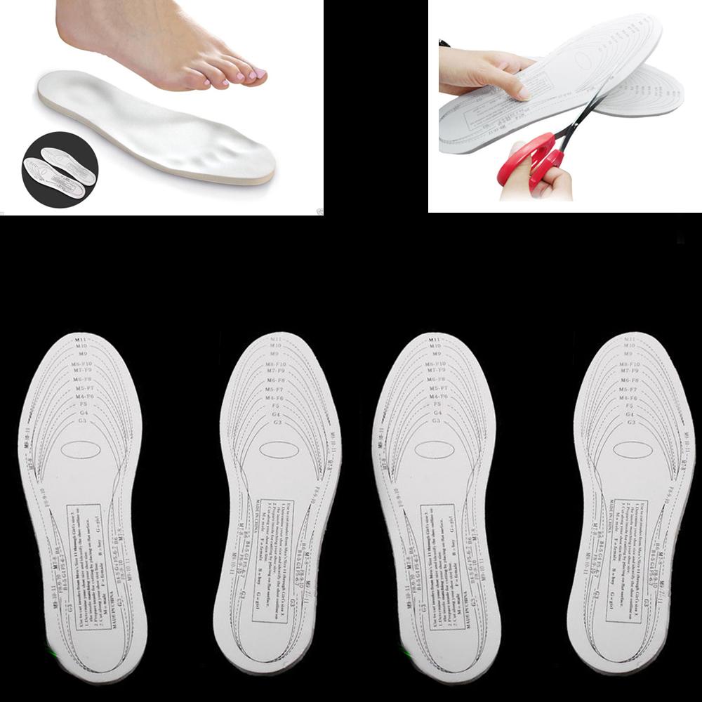2 Pairs Memory Foam Insoles Shoe