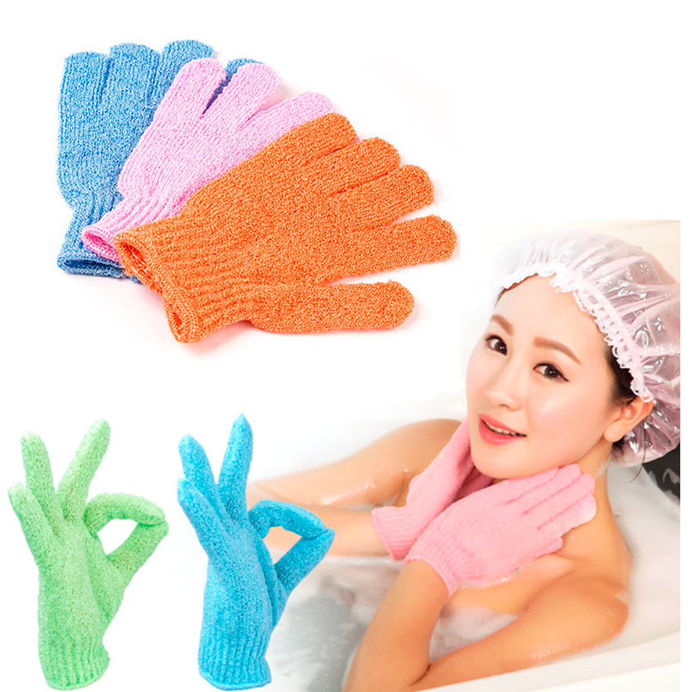 how to keep exfoliating gloves clean