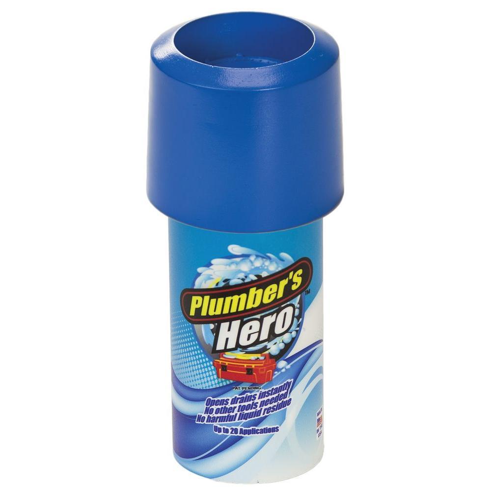 Plumbers Hero Kit Unclog Drains Instantly Toilet Flushing