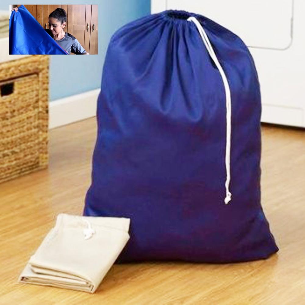 1 heavy duty jumbo sized laundry bag nylon 27 7 x 35 college home dorm colors ebay - X laundry bags ...