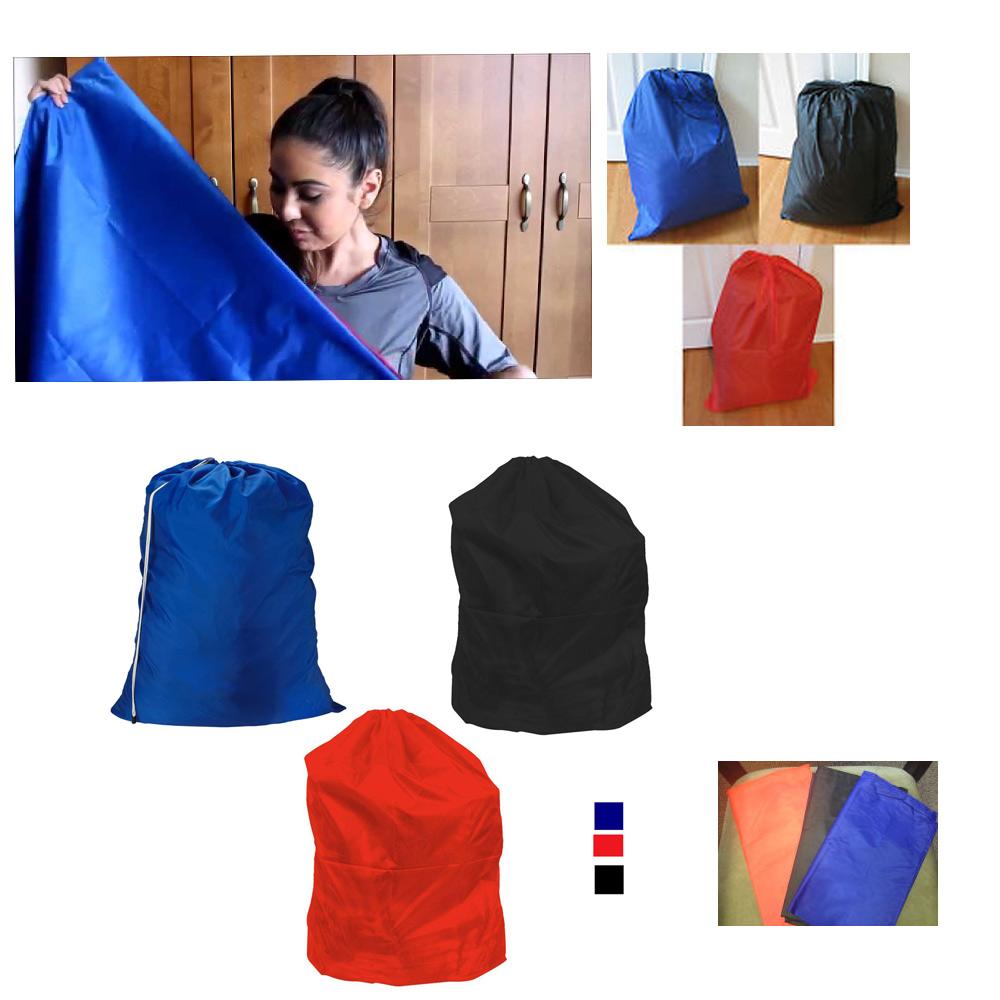 2 jumbo sized laundry bag commercial heavy nylon college home dorm 27 7 x 35 ebay - X laundry bags ...