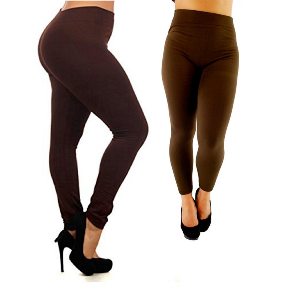 077e165cbd1f8 Plus Size Leggings Seamless Footless Stretch Women Yoga Pants ...