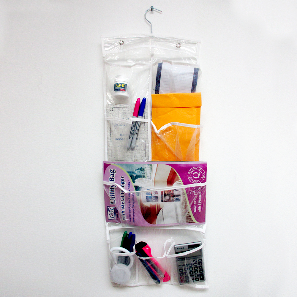8 pocket holder bag purse handbag hook hang rack hanger for Hooks to hang purses