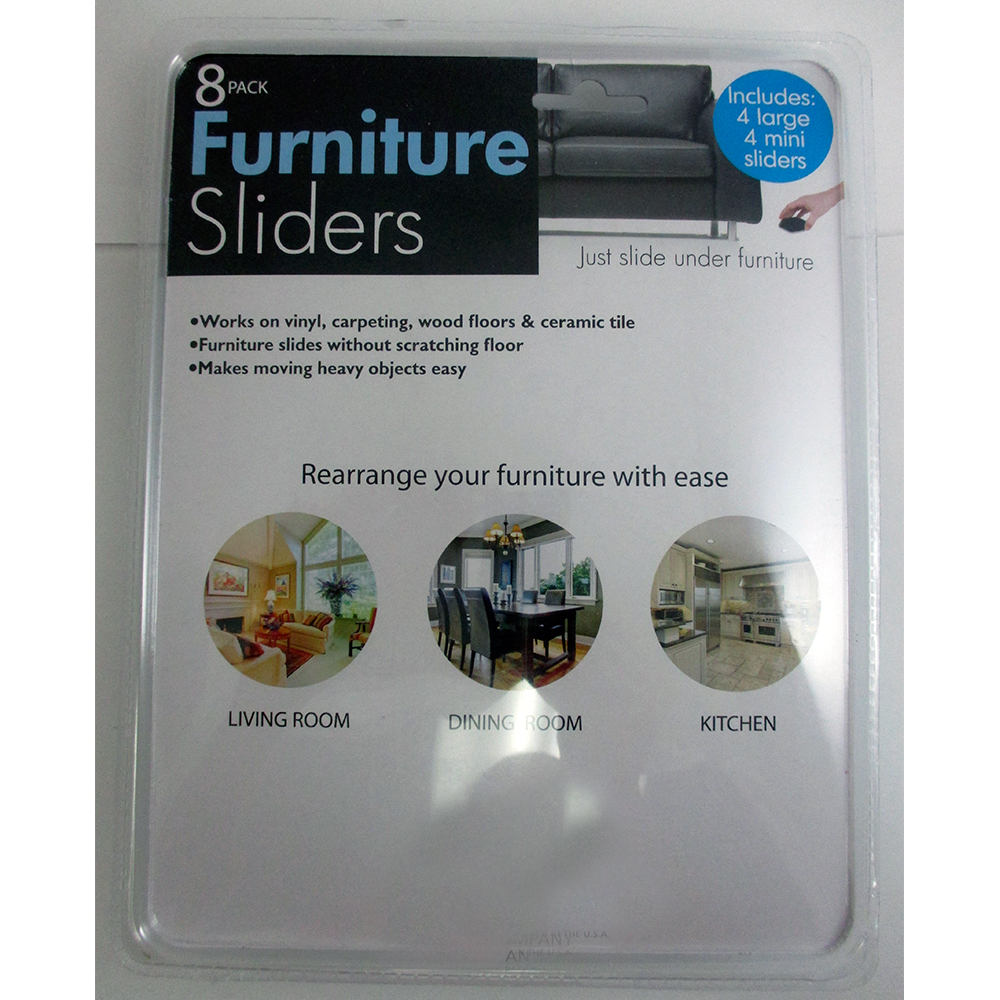 Lot Of 8 Furniture Sliders Magic Mover Pad Protectors Floor Wood Furniture On Tv Ebay