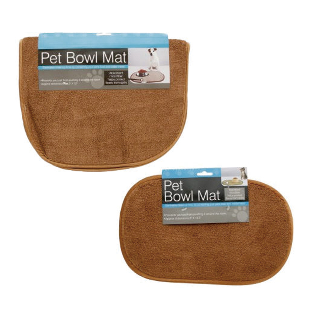 Large Microfiber Pet Bowl Mat Machine Washable Cushions ... - photo#34