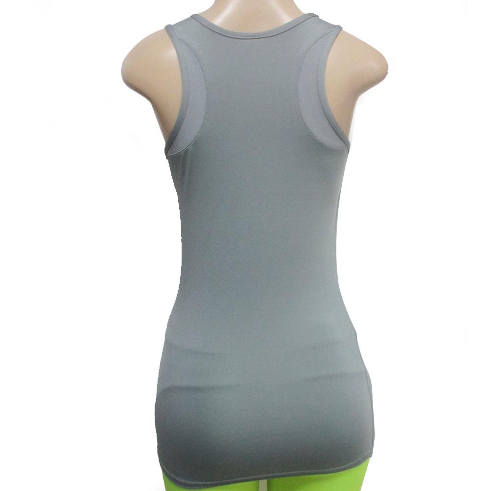New Womens Racerback Tank Stretch Tee Top Yoga Cami Tee