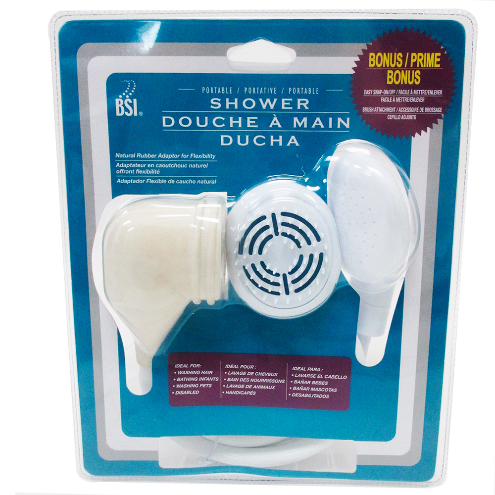 shower portable adaptor spray handheld bathtub tub hose. Black Bedroom Furniture Sets. Home Design Ideas